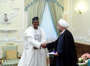 دکتر روحانی در دیدار با سفیر جدید بنین: تهران از گسترش روابط با بنین استقبال می کند