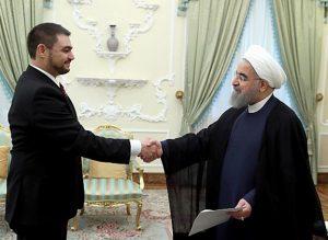 دکتر روحانی در دیدار با سفیر جدید مکزیک: تهران خواهان توسعه روابط با آمریکای مرکزی و جنوبی است