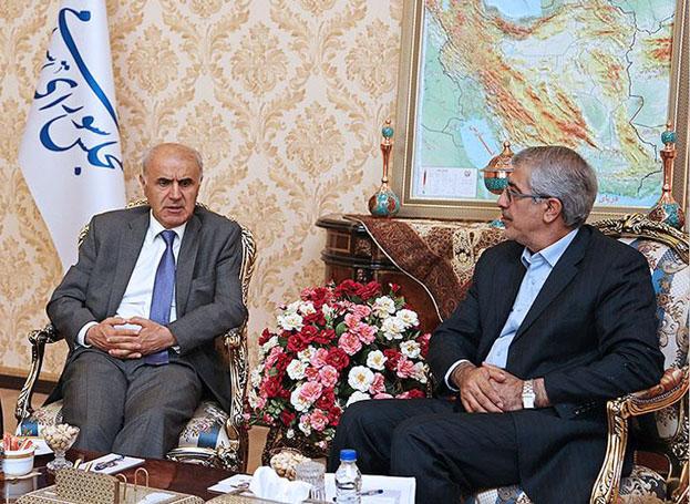 دیدار و تبادل نظر رئیس کمیسیون اقتصادی مجلس با سفیر ارمنستان در ایران