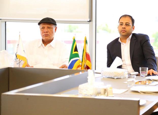 سفیر آفریقای جنوبی: روابط تجاری ایران و آفریقای جنوبی گسترش می یابد