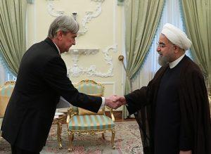 روحانی در دیدار سفیر با جدید اروگوئه: اراده سیاسی ایران توسعه روابط با کشورهای آمریکای لاتین است