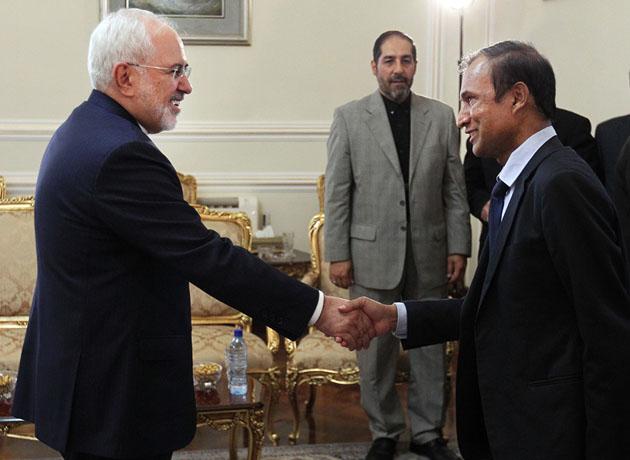 دیدار خداحافظی سفیر سریلانکا در تهران با ظریف