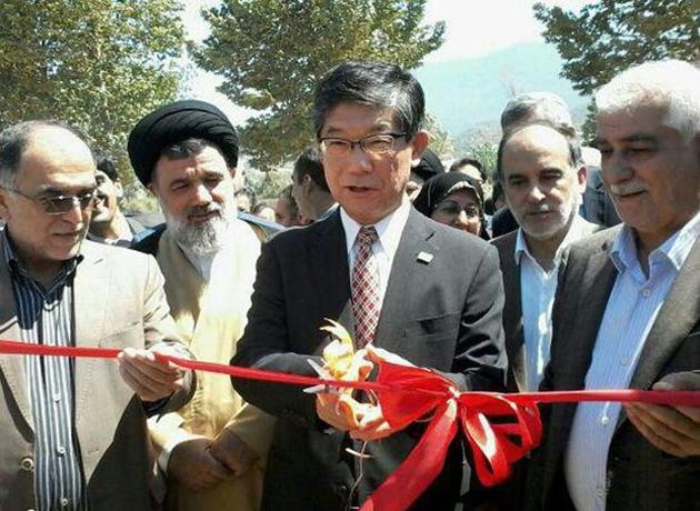 افتتاح نخستین کارگاه تولید عرقیات گیاهی شمال کشور با حضور سفیر ژاپن
