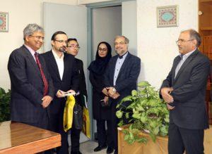 بازدید سفیر هندوستان از سازمان مطالعه و تدوین کتب علوم انسانی دانشگاهها