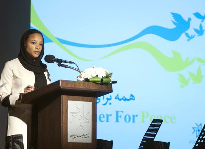 بزرگداشت روز جهانی صلح با حضور نماینده دفتر منطقهای یونسکو در خانه هنرمندان