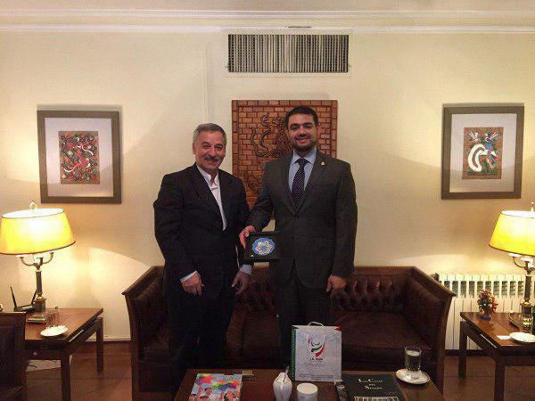 قدردانی دبیر کل کمیته پارالمپیک از نحوه همکاری سفارت مکزیک در ایران