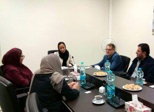 دیدار و رایزنی مدیرعامل خانه هنرمندان با نماینده دفتر منطقهای یونسکو در تهران