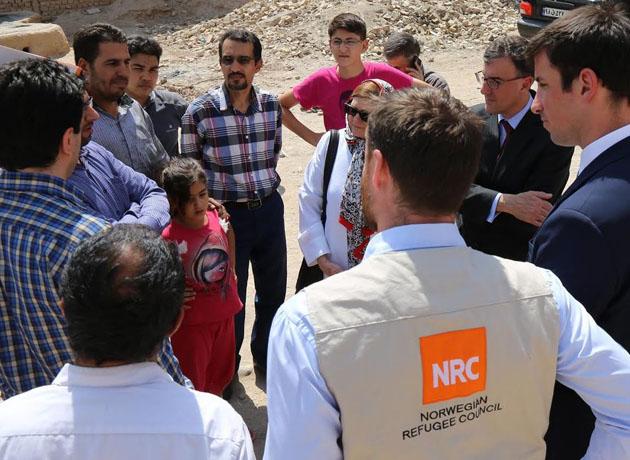 سفیر استرالیا: انجمن NRC در کرمان اقدامات بسیار خوبی انجام داده است