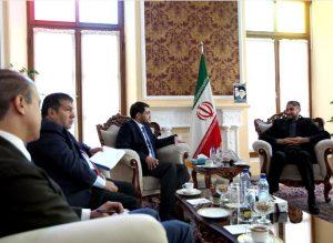 دیدار و تبادل نظر امیرعبداللهیان با سفیر مکزیک در ایران