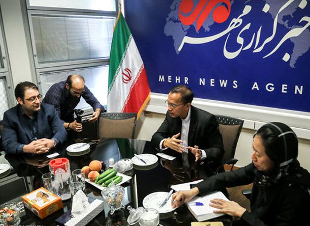 سفیر تایلند در گفتگو با مهر: تایلندیها نیازمند آشنایی بیشتر با فرهنگ و تمدن ایرانی هستند