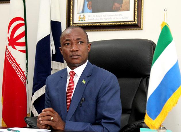سفیر سیرالئون در تهران: به دستور رئیس جمهور برای گسترش روابط با ایران تلاش می کنم