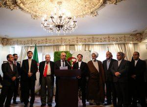 برگزاری شصت و سومین مراسم سالگرد انقلاب الجزایر در تهران