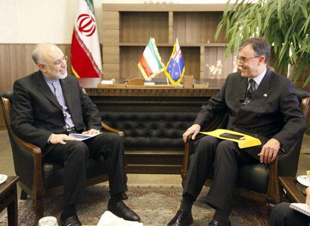 دیدار سفیر استرالیا در ایران با صالحی