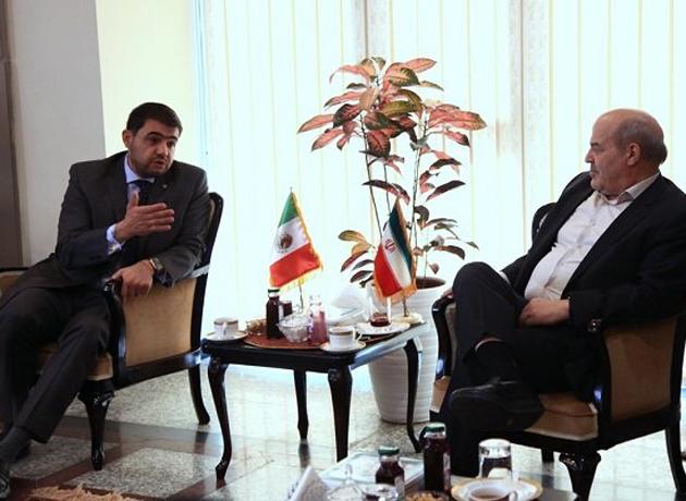 مذاکره زیست محیطی عیسی کلانتری با سفیر مکزیک در ایران