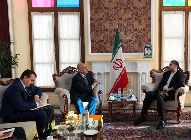 سفیر الجزایر در دیدار با امیرعبداللهیان بر ضرورت حمایت از مردم فلسطین تأکید کرد