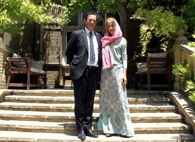 همسر سفیر انگلستان در تهران: از زندگی در جنوب تهران لذت می برم