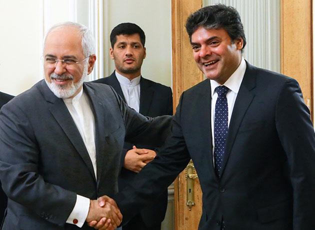 دیدار خداحافظی کمیساریای عالی پناهندگان سازمان ملل با دکتر ظریف