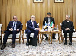 دیدار و رایزنی رئیس اتاق ایران با سفیر جدید فنلاند در تهران