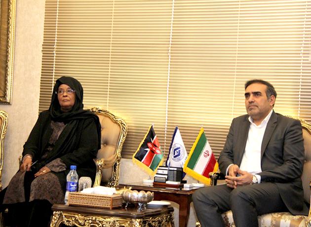 دیدار و رایزنی رئیس اتاق تعاون ایران با سفیر کنیا در تهران