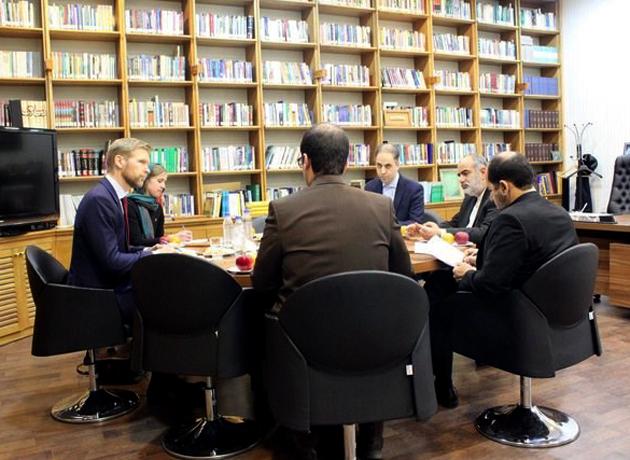 دیدار و رایزنی سفیر نروژ با رئیس مرکز بررسیهای استراتژیک نهاد ریاستجمهوری