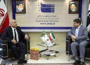 تاکید مدیرعامل ایرنا برضرورت گسترش همکاری های رسانهای با الجزایر