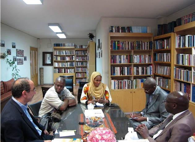 دیدار و رایزنی سفیر سنگال با معاون فرهنگی و بینالملل شهر کتاب