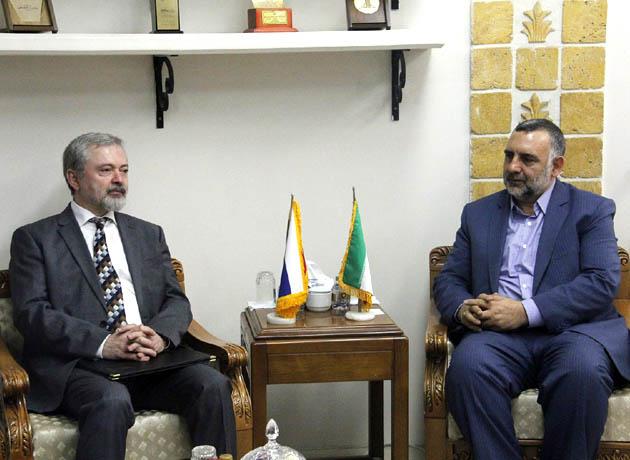 تاکید معاون وزیر فرهنگ و ارشاد اسلامی بر گسترش روابط ایران و اسلواکی