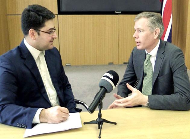 سفیر جدید انگلیس در ایران: لندن به دنبال بهبود روابط با تهران است