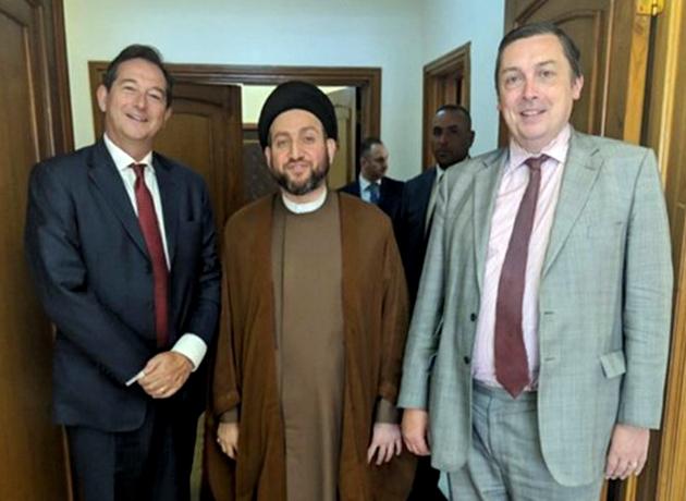 دیدار سفیر انگلیس در ایران با رهبران جریان شیعه عراق