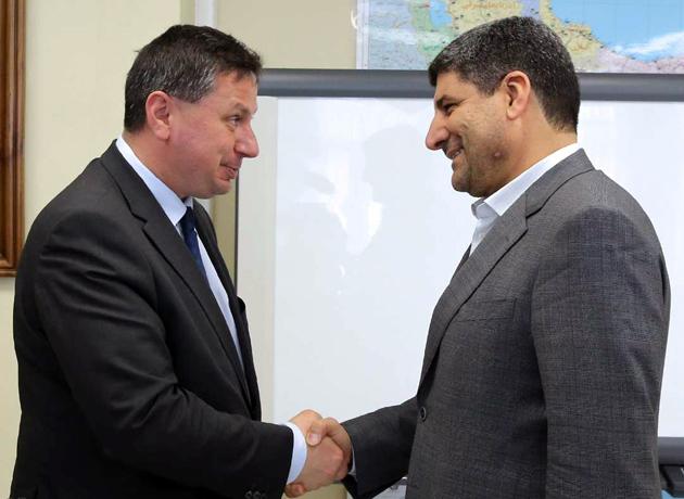 دیدار و رایزنی سفیر بلغارستان با مدیرعامل ایرنا