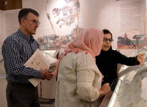 بازدید سفیر استرالیا در ایران از موزه ملک