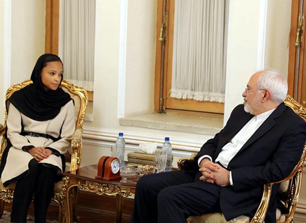 دیدار خداحافظی رئیس دفتر منطقه ای یونسکو در ایران با وزیر امور خارجه