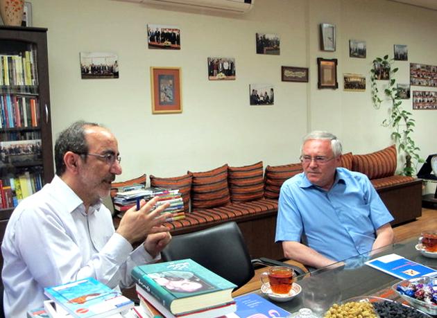 دیدار و رایزنی دبیر اول سفارت روسیه با معاون فرهنگی و بینالملل شهر کتاب