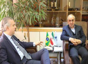 گسترش همکاریهای ایران و برزیل در حوزه حمل و نقل خودرویی
