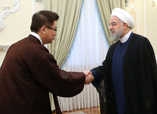 رئیس جمهور خطاب به سفیر جدید کره جنوبی: ایران منبعی پایدار برای تأمین انرژی کره جنوبی است