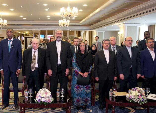 برگزاری بزرگداشت یکصدمین سالروز تولد نلسون ماندلا در تهران
