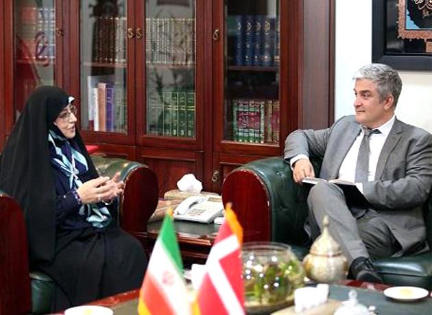 دیدار و رایزنی سفیر دانمارک با رئیس سازمان اسناد و کتابخانه ملی ایران