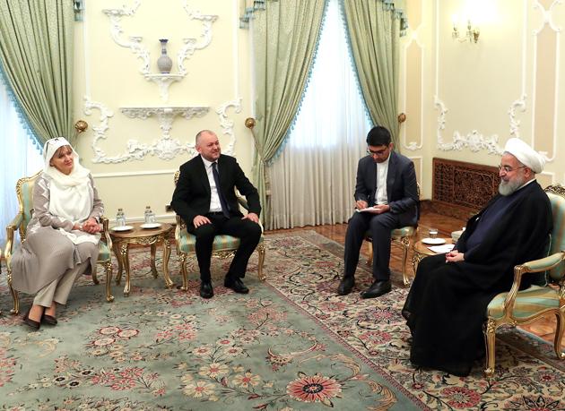 تقدیم استوارنامه سفیر جدید بوسنی و هرزگوین به رئیس جمهور