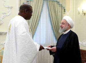 تقدیم استوارنامه سفیر جدید سنگال به رئیس جمهور