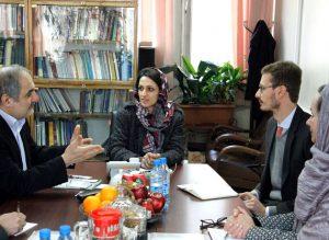 دیدار مدیرکل دفتر چاپ و نشر وزارت فرهنگ و ارشاد اسلامی با رایزن فرهنگی سفارت آلمان