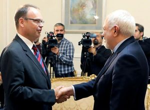 دیدار رئیس جدید دفتر فائو در ایران با دکتر ظریف