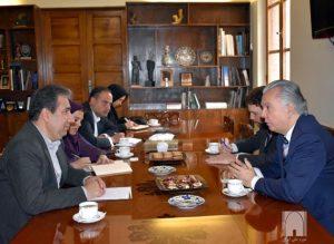 دیدار سفیر برزیل با رئیس موزه ملی ایران