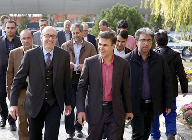 بازدید سفیر اتریش از مجتمع پتروشیمی شازند