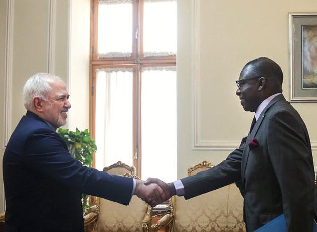 دیدار سفیر جدید مالی در تهران با وزیر امور خارجه