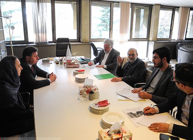 دیدار سفیر بلغارستان با دبیر ستاد حقوق بشر قوه قضائیه