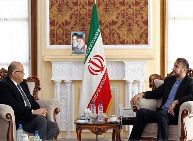 دیدار امیرعبداللهیان با رئیس دفتر حفاظت منافع جمهوری عربی مصر در تهران