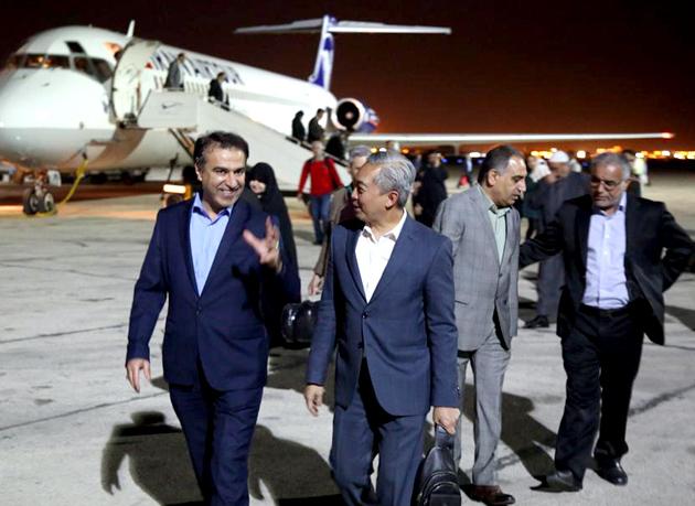 سفیر اندونزی وارد منطقه آزاد اروند شد