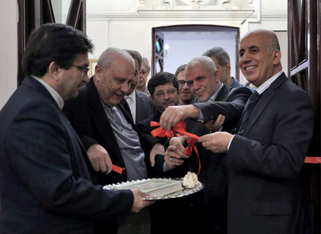 افتتاح نمایشگاه فرهنگی الجزایر در فرهنگسرای ملل