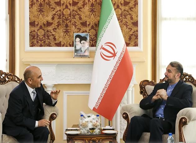 دیدار امیرعبداللهیان با سفیر تونس در ایران