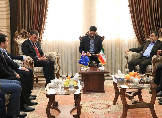 سفیر استرالیا: ظرفیتهای هرمزگان در تسهیل روابط تجاری میان ایران و استرالیا موثر است